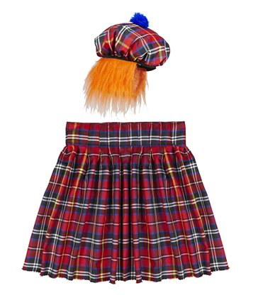 SCOTSMAN SET (kilt hat with hair)