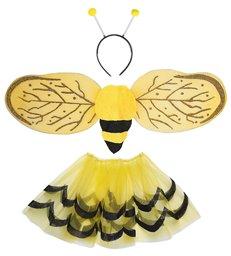 BEE DRESS UP SET - CHILD (tutu wings antenna)