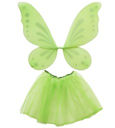 FOREST FAIRY DRESS UP SET - ADULT SIZE (tutu wings)