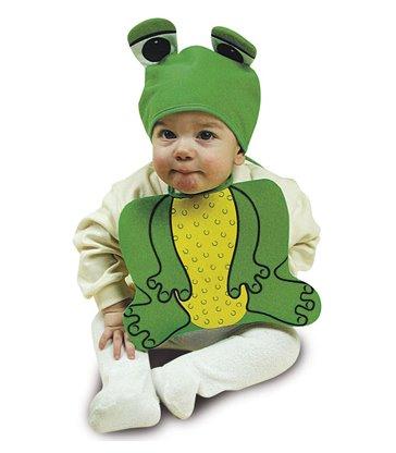 BABY FROGGY SET BONNET & BIB