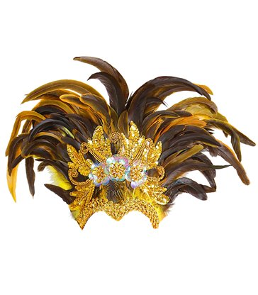 INCA SHOW FEATHER HEADDRESS