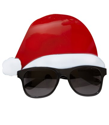 SANTA CLAUS GLASSES