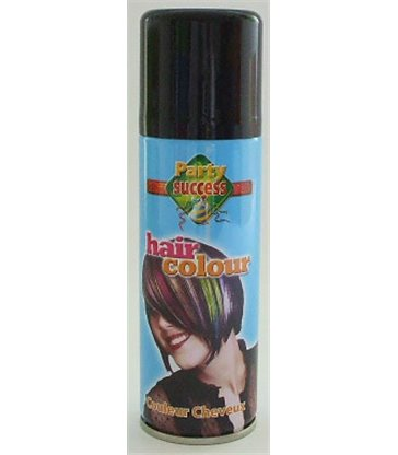 HAIRSPRAY 125ml BLACK
