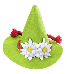 BAVARIAN MINI HAT - GREEN