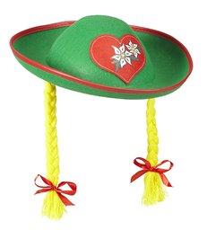 Felt TYROLEAN HAT WITH PLAITS