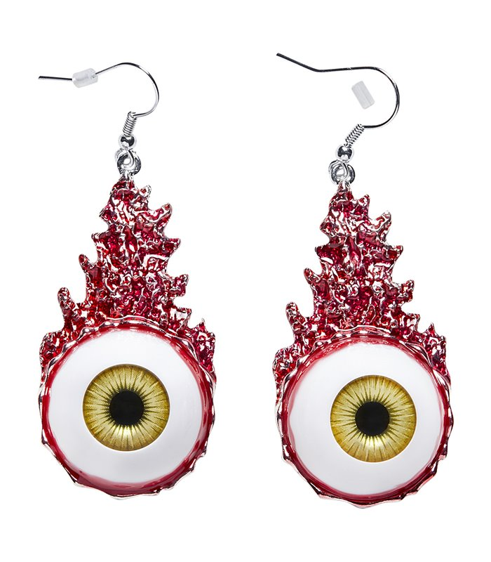 BLOODY EYES EARRINGS