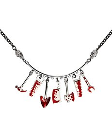 BLOODY TOOLS NECKLACE