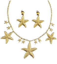 MERMAID SET (necklace earrings)