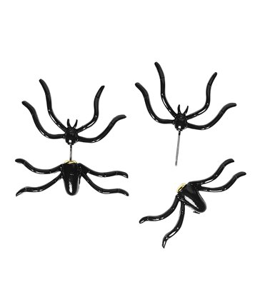 SPIDER THROUGH THE EAR EARRINGS
