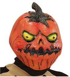 HORROR PUMPKIN FULL HEAD MASK FOR CHILDREN