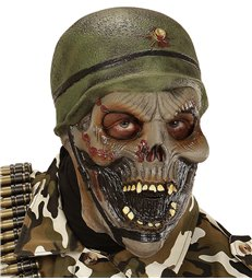ZOMBIE SOLDIER 3/4 MASK
