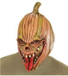 EVIL PUMPKIN 3/4 MASK