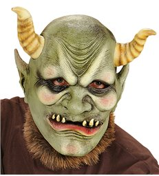 EVIL ORC FULL HEAD MASK