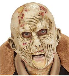 ZOMBIE 3/4 OPEN MOUTH MASK - CHILD