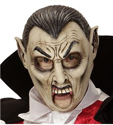 VAMPIRE 3/4 OPEN MOUTH MASK - CHILD