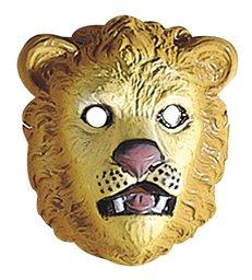 LION MASK PLASTIC - CHILD SIZE