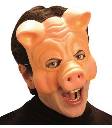 PIG MASK VINYL HALF FACE