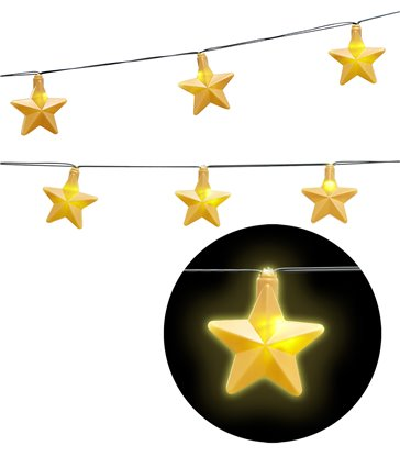 LIGHT CHAIN GARLAND STARS