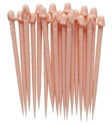WILLY TOOTHPICKS PKT OF 12