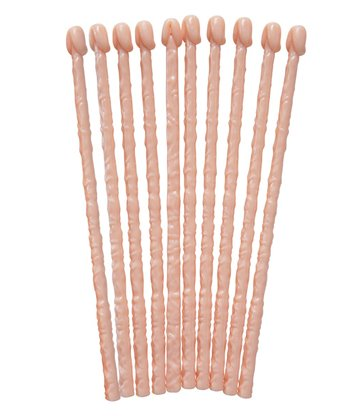WILLY STIRRERS - SET OF 10