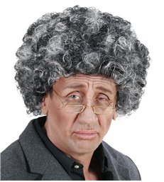 OLD MAN WIG IN POLYBAG GREY