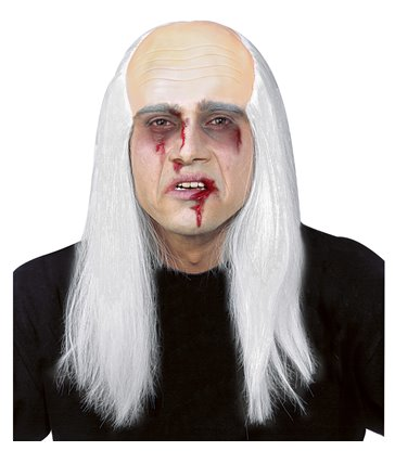 ZOMBIE BALD HEAD WITH HAIR