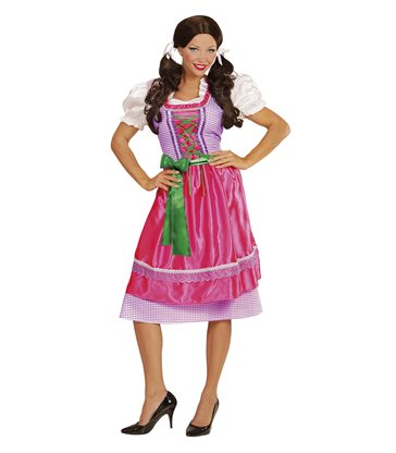 DIRNDL BAVARIAN - PURPLE / PINK