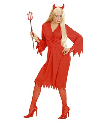 DEVIL WOMAN (dress belt horns)