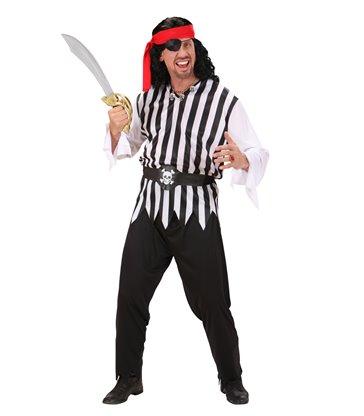 PIRATE MAN (coat pants belt headband)