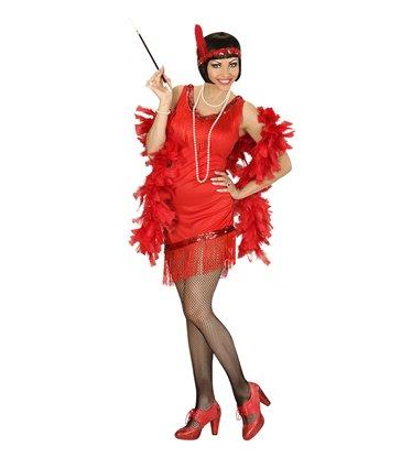 RED FLAPPER GAL (dress headband)