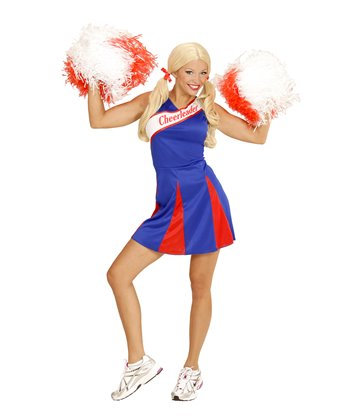 CHEERLEADER - BLUE/RED (dress)