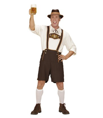 BAVARIAN MAN (lederhosen top socks hat)
