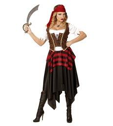 PIRATE GIRL (dress corset headband)