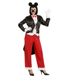 MISS MOUSE (jacket shirt bow tie pants ears)