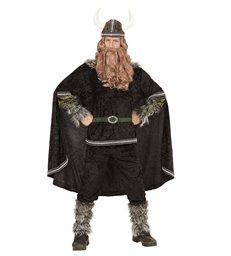 VIKING CHIEF (coat pants belt arm l/warmers cape hat)