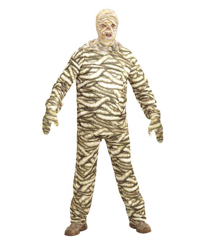 MUMMY COSTUME (coat pants mask)