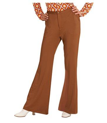 GROOVY 70s LADY PANTS - BROWN