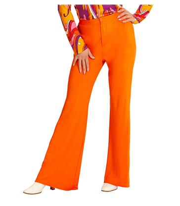 GROOVY 70s LADY PANTS - ORANGE