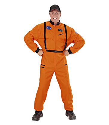 ORANGE ASTRONAUT (jumpsuit)