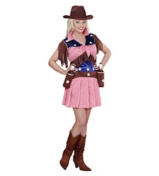 RODEO COWGIRL (dress belt with holsters)