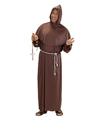 MONK COSTUME (hooded robe belt)