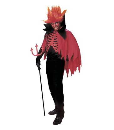 SCARY DEVIL (coat cape collar horns)