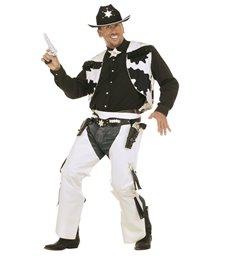 RODEO COWBOY COSTUME (vest chaps star string tie)