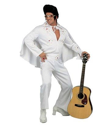 KING OF ROCK DELUXE COSTUME (jumpsuit belt cape)