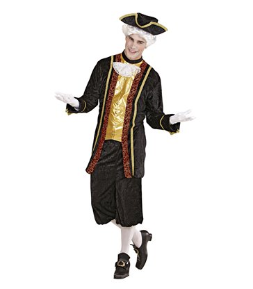 VENETIAN NOBLEMAN (coat with jabot pants hat)