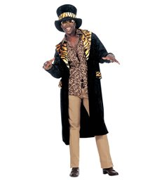 BIG DADDY COSTUME (coat hat)