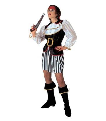 PIRATE LADY (coat jabot skirt belt boot covers headband