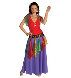 GIPSY QUEEN COSTUME (dress headband)