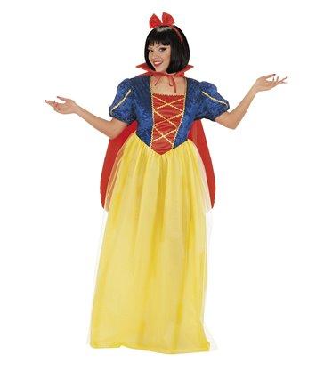 FAIRYLAND PRINCESS COSTUME XL (long dress cape hair-ribbon)