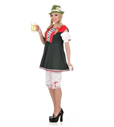 BAVARIAN LADY COSTUME (dress pantaloons)